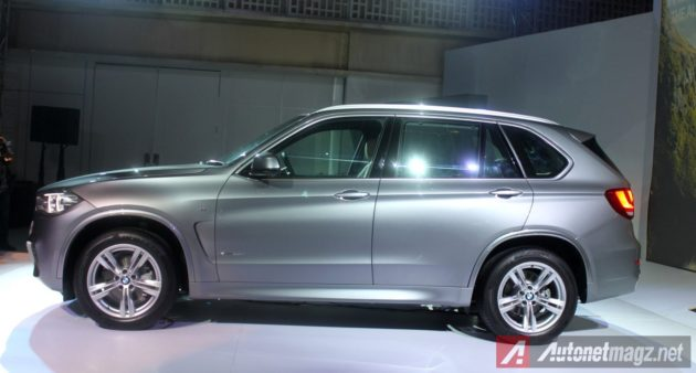 2014 BMW X5 Indonesia side