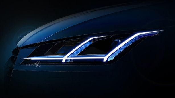 Audi TT 2014 Headlight