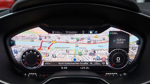 Audi TT 2014 Panel Instrumen
