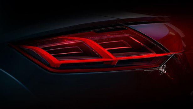 Audi TT 2014 Taillight