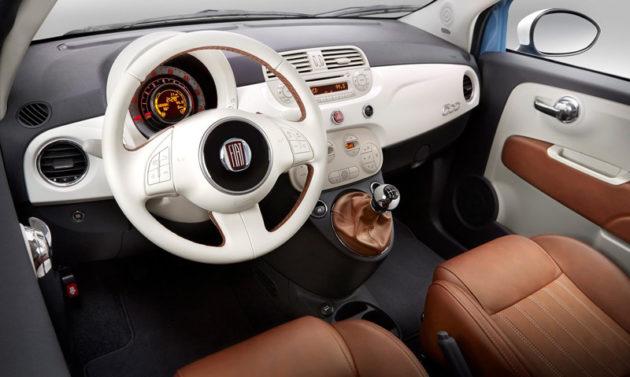 FIAT 500 1957 interior