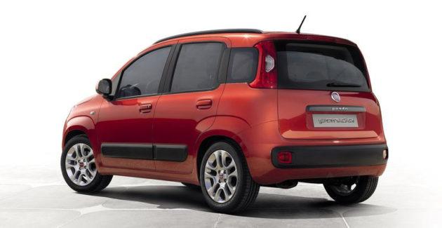 Fiat Panda Indonesia belakang