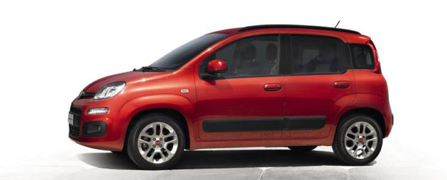 Fiat Panda Indonesia samping