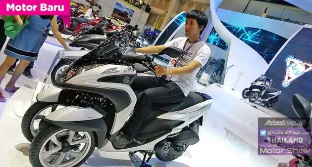 Harga Yamaha Tricity 3 roda