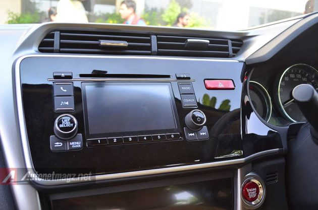 Head unit touchscreen Honda City 2014