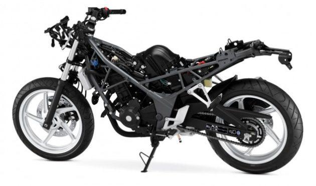 Honda-CB300F-Frame