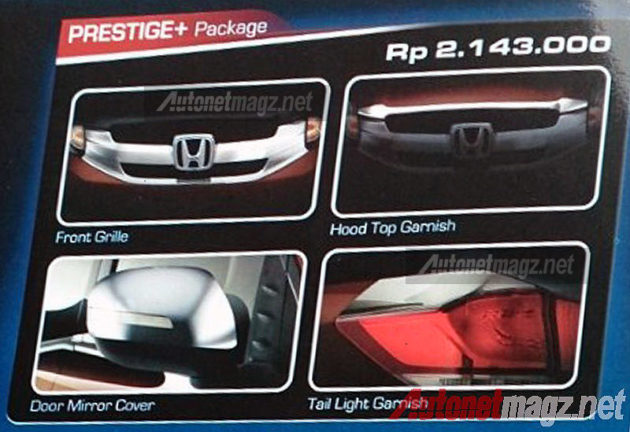 Honda Mobilio Modulo Genuine Accessories