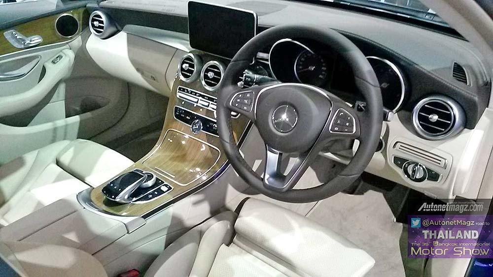 Interior mercedes benz c class tahun 2015 for Mercedes benz c class 2015 interior