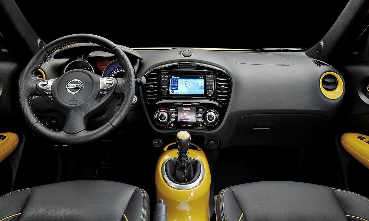 Interior Nissan Juke 2014