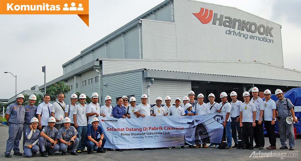 Klub dan Komunitas, KOI Korea Otomotif Indonesia kunjungi pabrik ban Hankook: Komunitas Korea Otomotif Indonesia Berkunjung ke Pabrik Ban Hankook