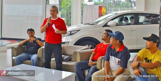 Marcomm Manager KIA Indonesia bapak Ridjal Mulyadi