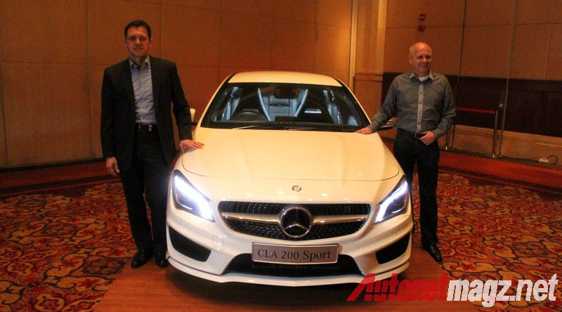 Mercedes-Benz, Mercedes CLA Indonesia Launching: First Impression Review Mercedes-Benz CLA 200 Indonesia