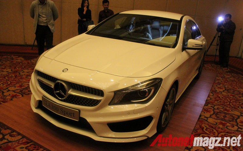 Mercedes-Benz, Mercedes CLA Indonesia Sport Line: First Impression Review Mercedes-Benz CLA 200 Indonesia