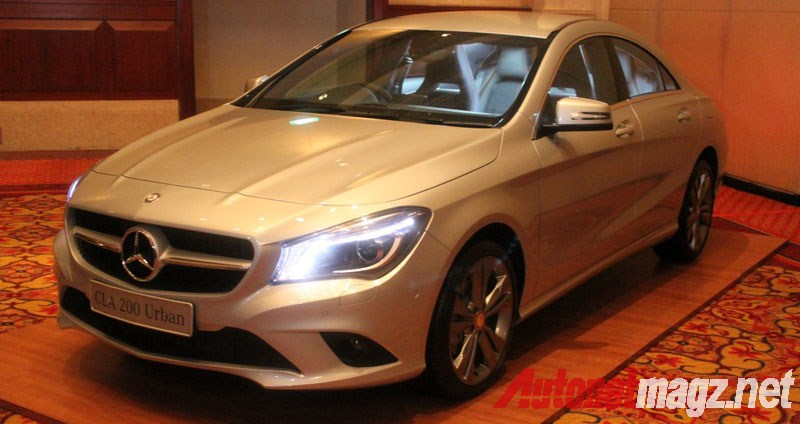Mercedes-Benz, Mercedes CLA Indonesia Urban Line: First Impression Review Mercedes-Benz CLA 200 Indonesia