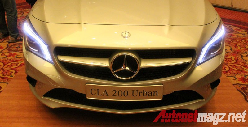 Mercedes-Benz, Mercedes CLA LED Lights: First Impression Review Mercedes-Benz CLA 200 Indonesia