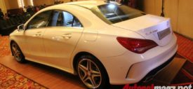 Mercedes CLA Door Step