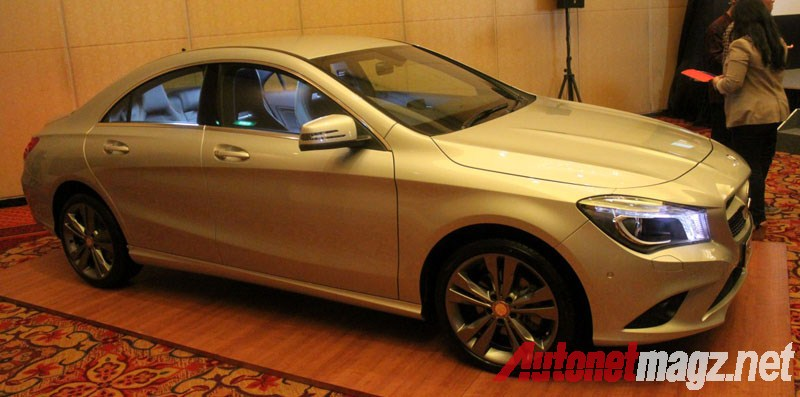 Mercedes-Benz, Mercedes CLA Urban Line: First Impression Review Mercedes-Benz CLA 200 Indonesia