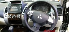Mitsubishi Pajero Sport paddle shift