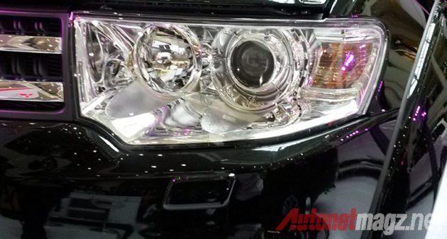 Mitsubishi Pajero Sport lamp washer