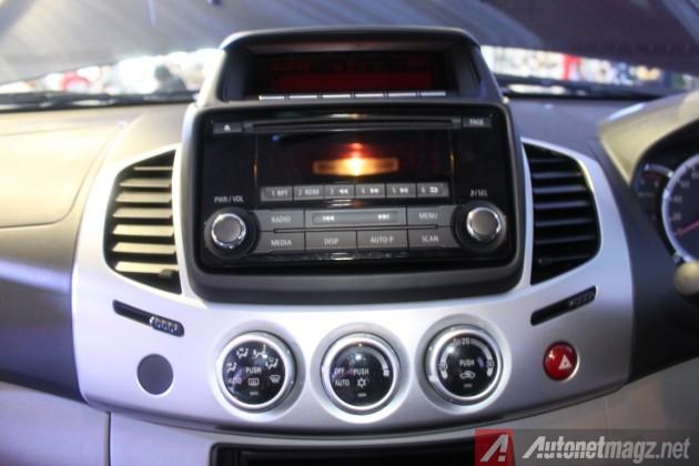 Mitsubishi Strada Triton VGT Head Unit