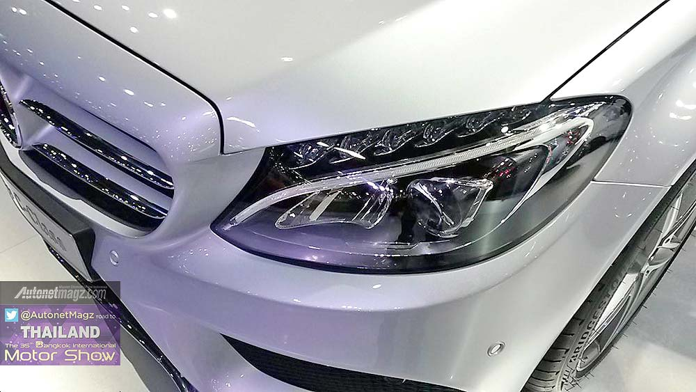 New mercedes benz c sporty 2015 for New mercedes benz 2015