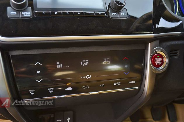 Panel kontrol AC New Honda City 2014