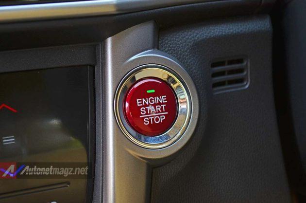 Start Stop Engine button Honda City 2014