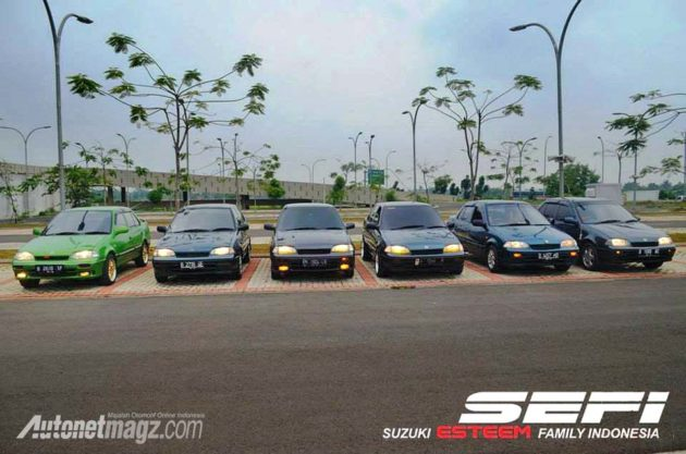 Suzuki Esteem Family Club chapter Jakarta
