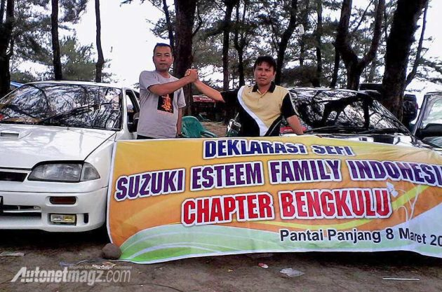 Suzuki Esteem Family Indonesia chapter Bengkulu