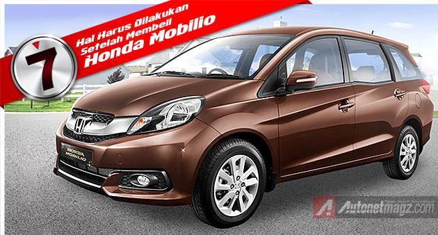 Tips beli mobil baru Honda Mobilio