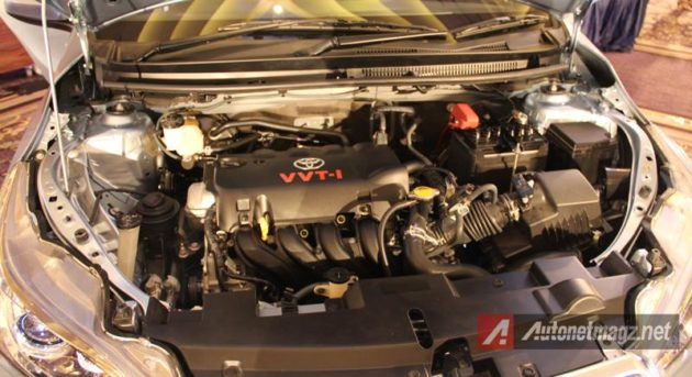 Toyota Yaris 2014 engine