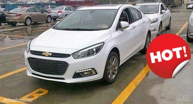 2014 Chevrolet Cruze spied