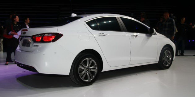 Chevrolet Cruze beijing version