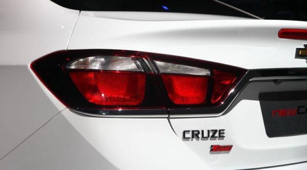 Chevrolet Cruze tailight