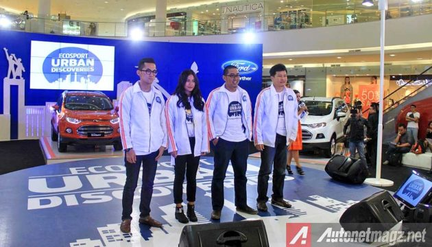 Finalis Ford EcoSport Urban Discoveries Indonesia