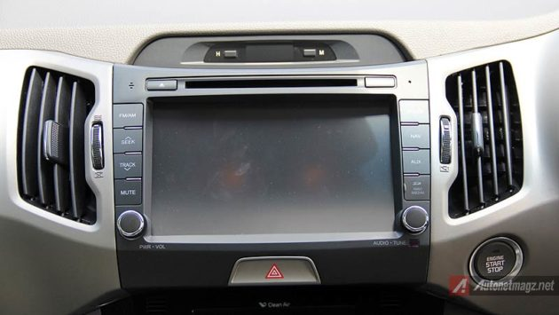 Head unit touchscreen KIA Sportage