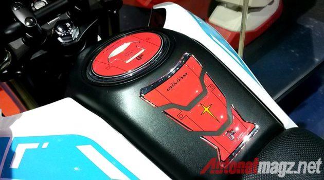 Honda MSX 125 Gundam Edition Fuel Tank