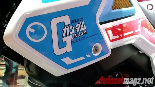 Honda MSX 125 Gundam Edition Sticker