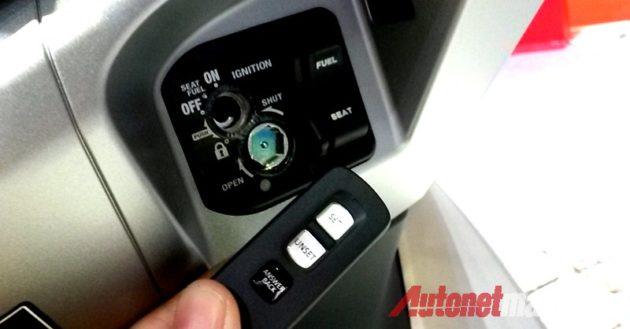 Honda PCX 150 Key