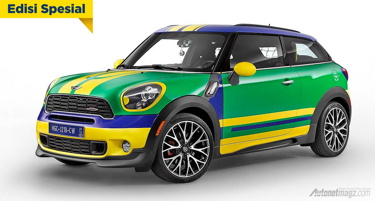mini cooper special edition world cup 2014 autonetmagz. Black Bedroom Furniture Sets. Home Design Ideas
