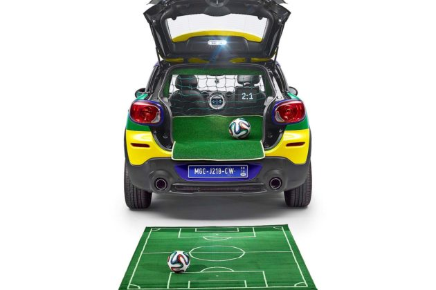 Mini GoalCooper Brazil World Cup 2014 edition