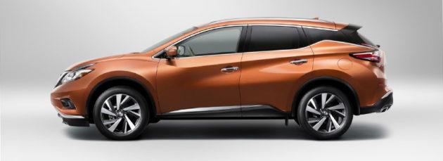 Nissan Murano 2015 Side