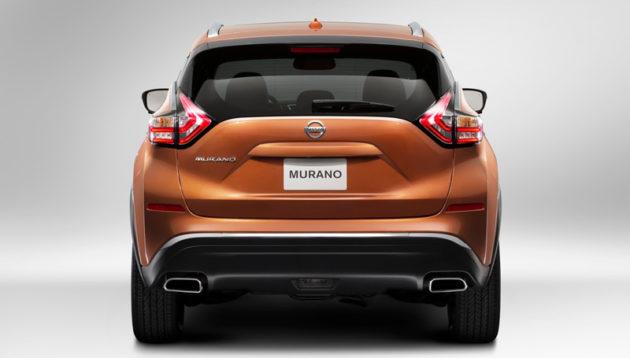 Nissan Murano 2015 back