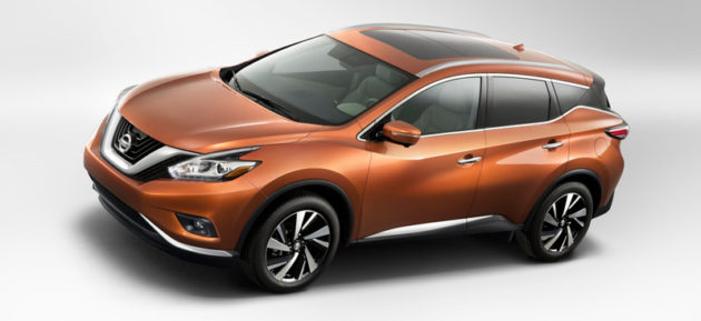 Nissan Murano 2015 wallpaper