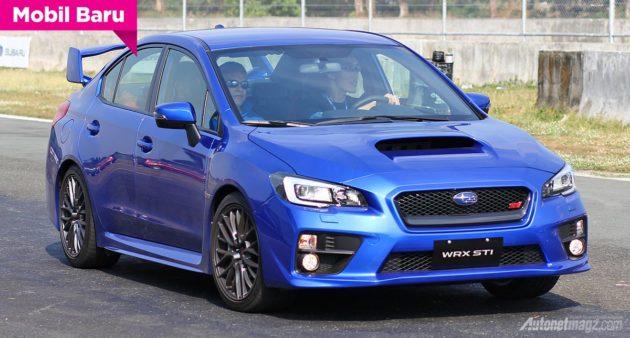 Subaru WRX STi launching Asia