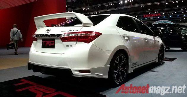 Toyota Corolla Altis TRD Rear View