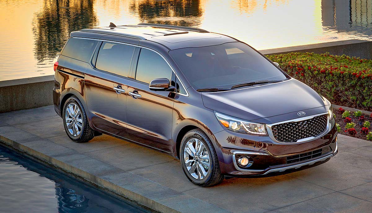 Wallpaper KIA Sedona 2015
