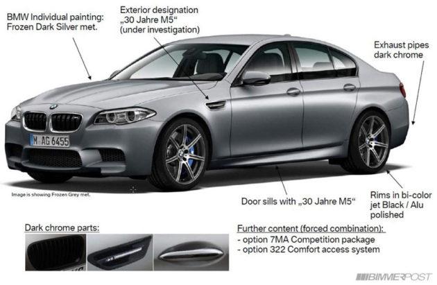 BMW M5 30 Jahre