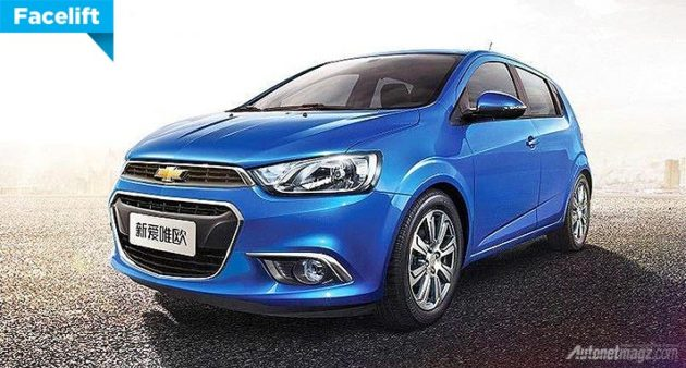 Chevrolet Aveo facelift 2014