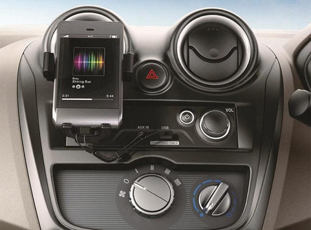 Datsun GO + Panca Radio